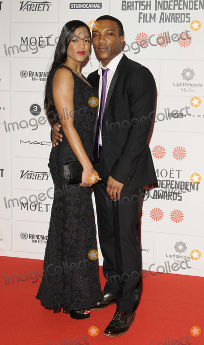 Ashley Walter Photo - LONDON ENGLAND - DECEMBER 08 Danielle Isaie  Ashley Walters at the Moet British Independent Film Awards 2013 Old Billingsgate Market Lower Thames St on Sunday December 08 2013 in London England UKCredit Capital Picturesface to face- Germany Austria Switzerland and USA rights only -