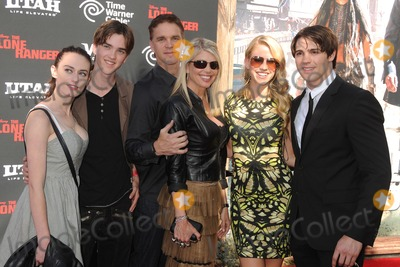 Steven R McQueen Photo - 22 June 2013 - Anaheim California - Luc Robitaille Stacey Toten Steven R McQueen The Lone Ranger World Premiere held at Disneys California Adventure Park Photo Credit Byron PurvisAdMedia