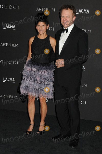 Alison Dickey Photo - 1 November 2014 - Los Angeles California - Alison Dickey John C Reilly LACMA Art  Film Gala 2014 held at the LA County Museum of Art Photo Credit Byron PurvisAdMedia