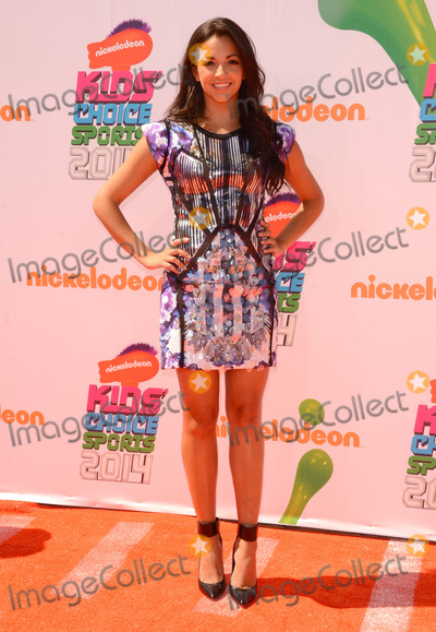 Ana Villafane Photo - 17 July 2014 - Los Angeles California - Ana Villafane Arrivals for the Nickelodeon Kids Choice Sports Awards 2014 held at UCLAs Pauley Pavilion in Los Angeles Ca Photo Credit Birdie ThompsonAdMedia