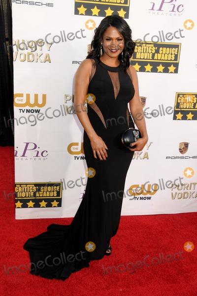Nia Long Photo - 16 January 2014 - Santa Monica California - Nia Long 19th Annual Critics Choice Movie Awards held at Barker Hangar Photo Credit Byron PurvisAdMedia