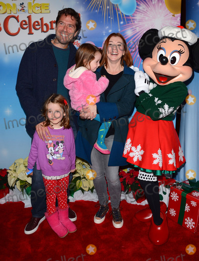 Alexis Denisof Photo - 11 December 2014 - Los Angeles California - Alexis Denisof Alyson Hannigan Arrivals for Disney On Ice presents Lets Celebrate held at Staples Center in Los Angeles Ca Photo Credit Birdie ThompsonAdMedia
