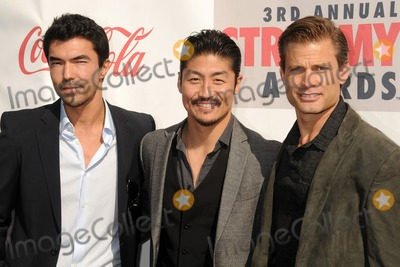 Casper Van Dien Photo - 17 February 2013 - Hollywood California - Ian Anthony Dale Brian Tee Casper Van Dien 3rd Annual Streamy Awards held at the Hollywood Palladium Photo Credit Byron PurvisAdMedia