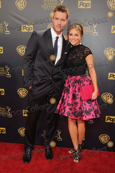 Justin Hartley Photo - 26 April 2015 - Burbank California - Justin Hartley Chrishell Stause The 42nd Annual Daytime Emmy Awards - Arrivals held at Warner Bros Studios Photo Credit Byron PurvisAdMedia