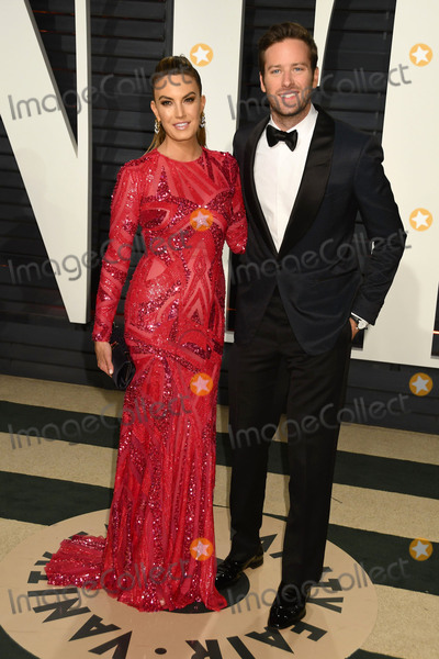 Armie Hammer Photo - 26 February 2017 - Beverly Hills California - Elizabeth Chambers Armie Hammer 2017 Vanity Fair Oscar Party held at the Wallis Annenberg Center Photo Credit Byron PurvisAdMedia