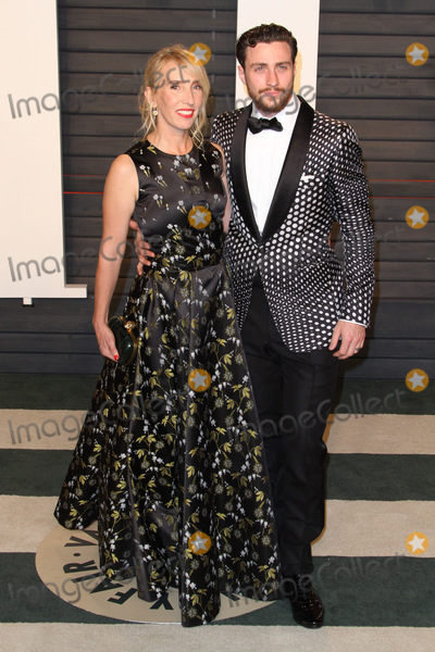 Aaron Taylor-Johnson Photo - 28 February 2016 - Beverly Hills California - Sam Taylor-Johnson Aaron Taylor-Johnson 2016 Vanity Fair Oscar Party hosted by Graydon Carter following the 88th Academy Awards held at the Wallis Annenberg Center for the Performing Arts Photo Credit AdMedia