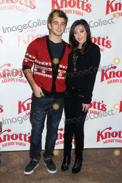 Jack Griffo Photo - 5 December 2015 - Buena Park California - Jack Griffo Ryan Newman Snoopys Merriest Tree Lighting Event held at Knotts Berry Farm Photo Credit Byron PurvisAdMedia