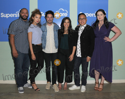 AMERICA FERERRA Photo - 07 June 2016 - Hollywood Colton Dunn Nichole Bloom Ben Feldman America Fererra Nico Santos Lauren Ash  Arrivals for NBCs Superstore FYC copyright UBC comedy panel series held at the UCB Sunset Theater Photo Credit Birdie ThompsonAdMedia