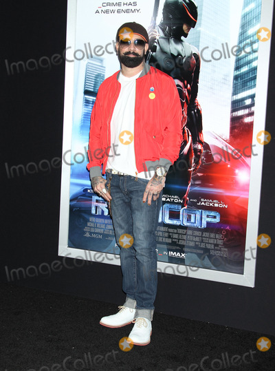 AJ MCLEAN Photo - 10 February 2014 - Hollywood California - AJ McLean Robocop Los Angeles Premiere held at the TCL Chinese Theatre Photo Credit Russ ElliotAdMedia