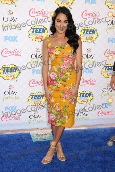 Brie Bella Photo - 10 August 2014 - Los Angeles California - Brie Bella Teen Choice Awards 2014 - Arrivals held at the Shrine Auditorium Photo Credit Byron PurvisAdMedia