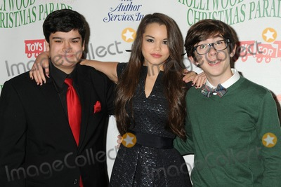 Augie Isaac Photo - 30 November 2014 - Hollywood California - Devan Leos Paris Berelc Augie Isaac 83rd Annual Hollywood Christmas Parade held on Hollywood Blvd Photo Credit Byron PurvisAdMedia