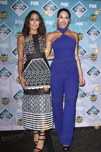 Nikki Bella Photo - 31 July 2016 - Inglewood California - Nikki Bella Brie Bella Teen Choice Awards 2016 held at The Forum Photo Credit AdMedia