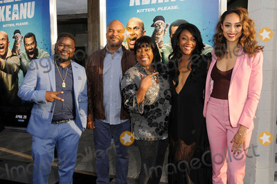 Tiffany Haddish Photo - 27 April 2016 - Hollywood California - Lil Rel Howery david Allan Grier Loretta Divine Tiffany Haddish Amber Stevens-West Arrivals for the Los Angeles Premiere of Warner Bros Keanu held at ArcLight Hollywood Photo Credit Birdie ThompsonAdMedia
