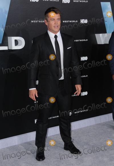 LUKE HEMSWORTH Photo - 28 September 2016 - Hollywood California Luke Hemsworth Los Angeles premiere of HBOs new drama series Westworld held at The TCL Chinese Theater Photo Credit Birdie ThompsonAdMedia