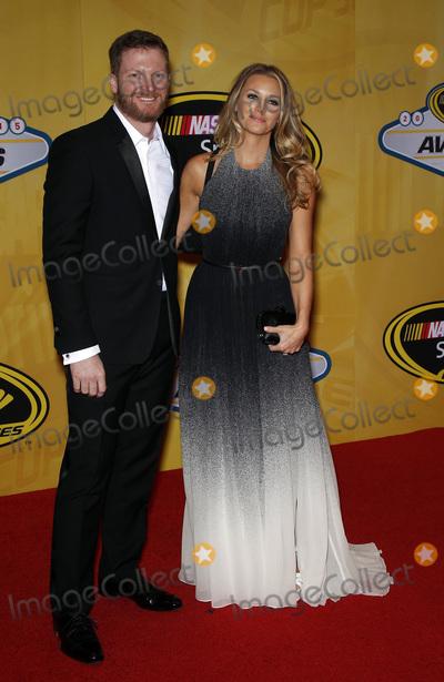 Dale Earnhardt Jr Photo - 04 December 2015 - Las Vegas Nevada - Dale Earnhardt Jr Amy Reimann 2015 NASCAR Sprint Cup Series Awards at The Wynn Las Vegas  Photo Credit MJTAdMedia