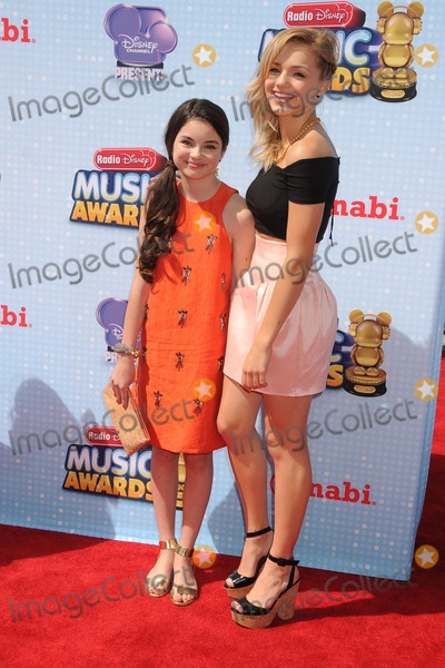 Oana Gregory Photo - 26 April 2014 - Los Angeles California - Landry Bender Oana Gregory 2014 Radio Disney Music Awards held at Nokia Theatre LA Live Photo Credit Byron PurvisAdMedia