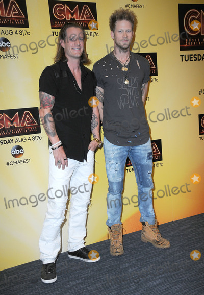 Tyler Hubbard Photo - 11 June 2015 - Nashville Tennessee - Brian Kelley Tyler Hubbard Florida Georgia Line 2015  CMA Music Festival Nightly Concert held at LP Field Photo Credit AdMedia
