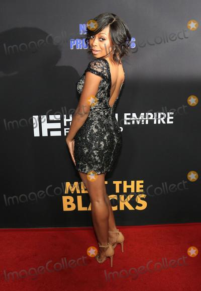 Bresha Webb Photo - 29 March 2016 - Hollywood California - Bresha Webb Meet The Blacks Los Angeles Premiere held at ArcLight Hollywood Photo Credit Winston BurrisAdMedia