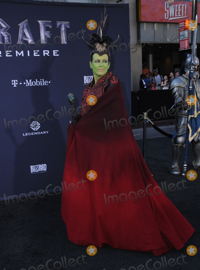 Jamie Lee Curtis Photo - 06 June 2016 - Hollywood California - Jamie Lee Curtis Arrivals for the Premiere Of Legendary Pictures and Universal Pictures Warcraft held at the TCL Chinese Theater IMAX Photo Credit Birdie ThompsonAdMedia