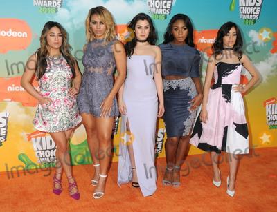 Fifth Harmony Photo - 12 March 2016 - Inglewood California - Ally Brooke Dinah-Jane Hansen Lauren Jauregui Normani Kordei Camila Cabello Fifth Harmony 2016 Nickelodeon Kids Choice Awards held at The Forum Photo Credit Byron PurvisAdMedia