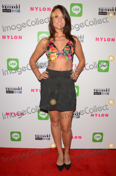 Laura James Photo - 20 August 2014 - Hollywood California - Laura James Arrivals for Americas Next Top Model Cycle 21 premiere party presented by NYLON and LINE held at Supperclub in Hollywood Ca Photo Credit Birdie ThompsonAdMedia