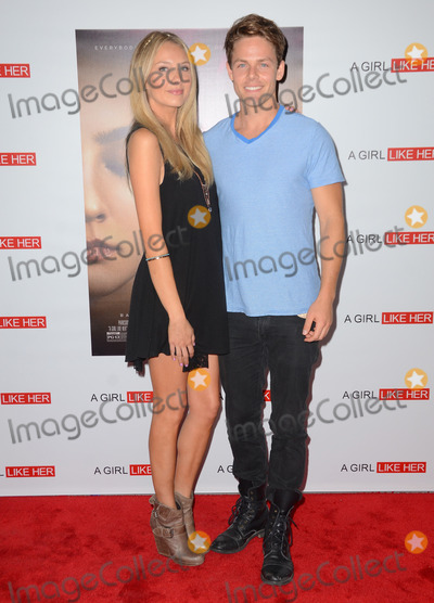 Melissa Ordway Photo - 27 March 2015 - Hollywood California - Melissa Ordway Lachlan Buchanan Arrivals for the Los Angeles premiere of A Girl Like Her held at ArcLight Hollywood Photo Credit Birdie ThompsonAdMedia