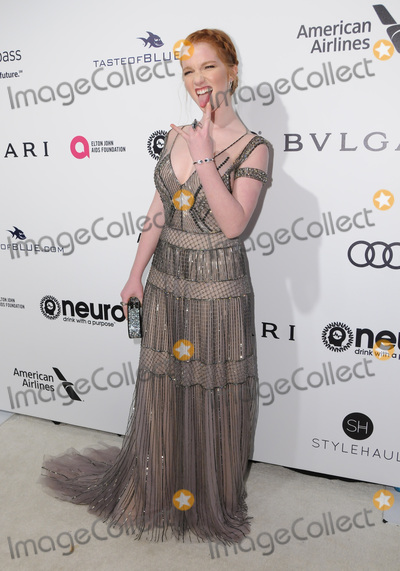 Annalise Basso Photo - 26 February 2017 - West Hollywood California - Annalise Basso 25th Annual Elton John Academy Awards Viewing Party held at West Hollywood Park Photo Credit Birdie ThompsonAdMedia