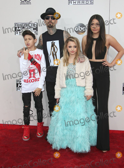 Alabama Photo - 20 November 2016 - Los Angeles California - Travis Barker Landon Asher Barker Alabama Luella Barker 2016 American Music Awards held at Microsoft Theater Photo Credit AdMedia