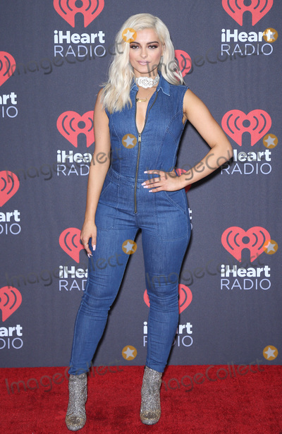 Bebe Rexha Photo - 23 September 2016 - Las Vegas NV -  Bebe Rexha  2016 iHeart Radio Music Festival Photo Room at T-Mobile Arena  Photo Credit MJTAdMedia