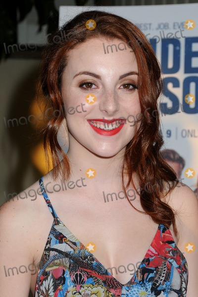 Juliette Goglia Photo - 31 March 2015 - Hollywood California - Juliette Goglia Resident Advisors Premiere Screening held at Paramount Studios Photo Credit Byron PurvisAdMedia