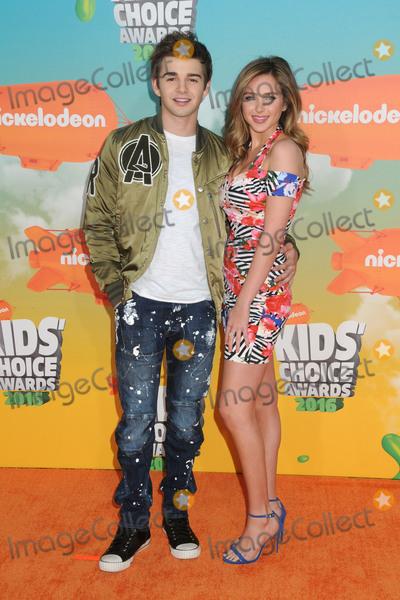 Jack Griffo Photo - 12 March 2016 - Inglewood California - Jack Griffo Ryan Newman 2016 Nickelodeon Kids Choice Awards held at The Forum Photo Credit Byron PurvisAdMedia