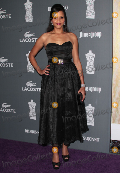 Sydney Poitier Photo - 21 February 2012 - Beverly Hills California - Sydney Tamiia Poitier The 14th Annual Costume Designers Guild Awards held at the Beverly Hilton Hotel Photo Credit James OrkenStarlitepicsAdMedia