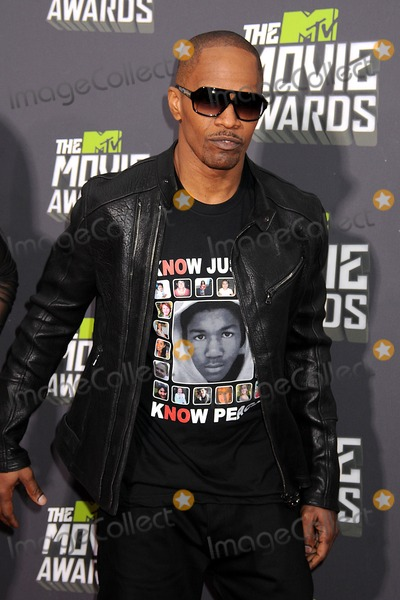 Jamie Foxx Photo - 14 April 2013 - Culver City California - Jamie Foxx 2013 MTV Movie Awards - Arrivals held at Sony Pictures Studios Photo Credit Byron PurvisAdMedia
