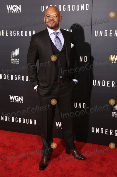 Anthony Hemingway Photo - 02 March 2016 - Los Angeles California - Anthony Hemingway Underground Los Angeles Premiere held at The Theatre At The Ace Hotel Photo Credit Winston BurrisAdMedia