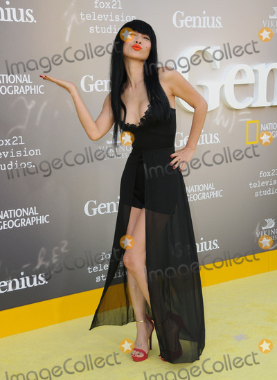 Bai Ling Photo - 24 April 2017 - Westwood California - Bai Ling National Geographics Premiere screening of Genius held at Fox Theater in Westwood Photo Credit Birdie ThompsonAdMedia