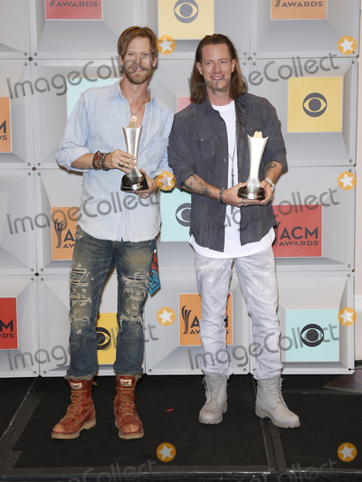 Brian Kelley Photo - 03 April 2016 - Las Vegas Nevada - Florida Georgia Line Brian Kelley Tyler Hubbard 51st Academy of Country Music Awards ACM Awards held at  MGM Grand Garden Arena Photo Credit MJTAdMedia