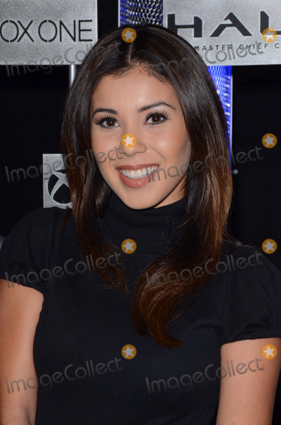 Ashley Campuzano Photo - 10 November 2014 - Hollywood California - Ashley Campuzano Microsoft and 343 Industries celebrate the launch of HaloThe Master Chief Collection held at The Avalon in Los Angeles Ca Photo Credit Birdie ThompsonAdMedia