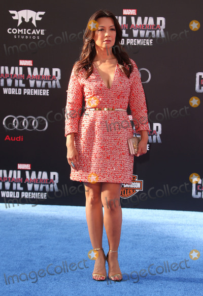 Ming-Na Wen Photo - 12 April 2016 - Hollywood California - Ming-Na Wen Captain America Civil War World Premiere held at the Dolby Theatre Photo Credit SammiAdMedia