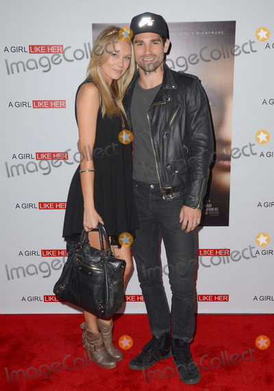 Melissa Ordway Photo - 27 March 2015 - Hollywood California - Melissa Ordway Justin Gaston Arrivals for the Los Angeles premiere of A Girl Like Her held at ArcLight Hollywood Photo Credit Birdie ThompsonAdMedia