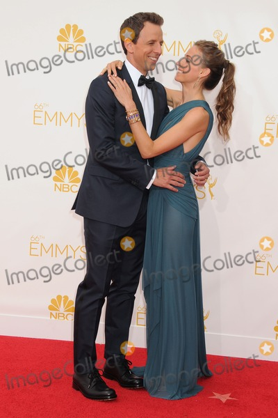 Alexi Ashe Photo - 25 August 2014 - Los Angeles California - Seth Meyers Alexi Ashe 66th Annual Primetime Emmy Awards - Arrivals held at Nokia Theatre LA Live Photo Credit Byron PurvisAdMedia