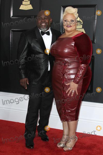 David Mann Photo - 12 February 2017 - Los Angeles California - David Mann Tamela Mann 59th Annual GRAMMY Awards held at the Staples Center Photo Credit AdMedia