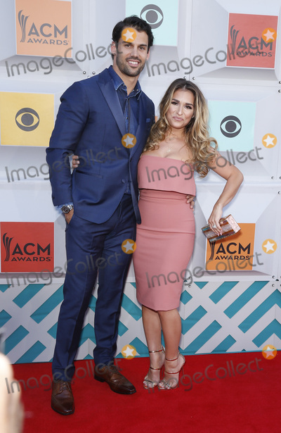 Eric Decker Photo - 03 April 2016 - Las Vegas Nevada - Eric Decker Jessie James Decker 51st Academy of Country Music Awards ACM Awards held at  MGM Grand Garden Arena Photo Credit MJTAdMedia