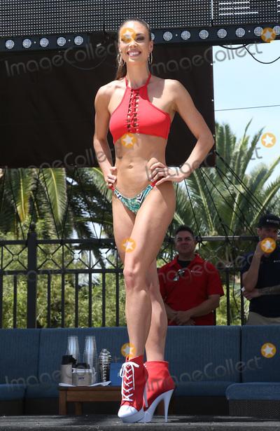 alaska Photo - 05 May 2017 - Las Vegas Nevada - Miss Alaska Alyssa London  The 2017 Miss USA Swimsuit fashion Show by Yandycom at Daylight Beach Club at Mandalay Bay resort and Casino  Photo Credit MJTAdMedia
