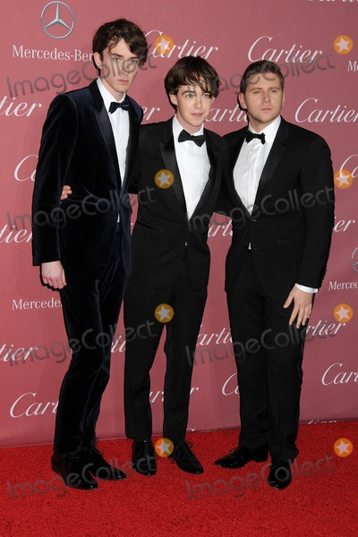 Alex Lawther Photo - 3 January 2015 - Palm Springs California - Matthew Beard Alex Lawther Allen Leech 26th Annual Palm Springs International Film Festival Awards Gala held at the Palm Springs Convention Center Photo Credit Byron PurvisAdMedia