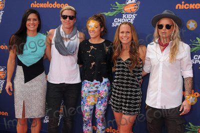 Abby Wambach Photo - 16 July 2015 - Westwood California - Ali Krieger Abby Wambach Kelley OHara Christie Rampone Ashlyn Harris Nickelodeon Kids Choice Sports Awards 2015 held at the UCLA Pauley Pavilion Photo Credit Byron PurvisAdMedia