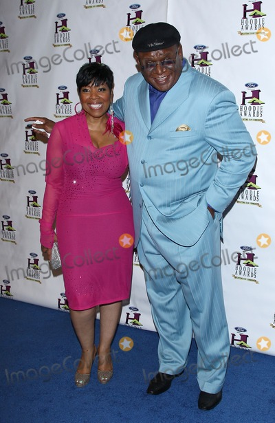 Shirley Strawberry Photo - 13 August 2011 - Las Vegas Nevada - Shirley Strawberry George Wallace Steve harvey hosts star-studded 9th Annual Hoodie Awards at Mandalay Bay Casino Resort   Photo Credit MJTAdMedia