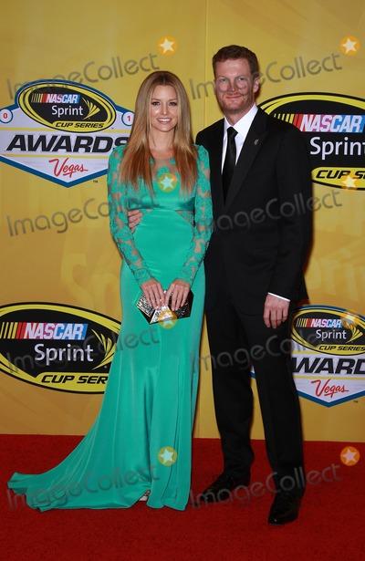 Dale Earnhardt Jr Photo - 05 December 2014 - Las Vegas NV -  Amy Reimann Dale Earnhardt Jr  2014 NASCAR Sprint Cup Series Awards at The Wynn Las VegasPhoto Credit mjtAdMedia