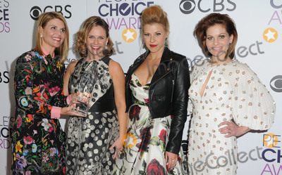 Andrea Barber Photo - 18 January 2017 - Los Angeles California - Lori Loughlin Andrea Barber Jodie Sweetin Candace Cameron Bure 2017 Peoples Choice Awards Press Room held at the Microsoft Theater Photo Credit Birdie ThompsonAdMedia