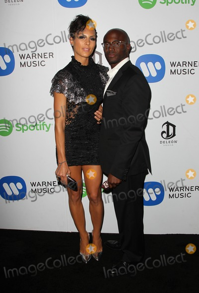 Taye Diggs Photo - 08 February 2015 - West Hollywood Amanza Smith Brown Taye Diggs Warner Music Group Annual GRAMMY Celebration Held at Chateau Marmont Photo Credit FSadouAdMedia