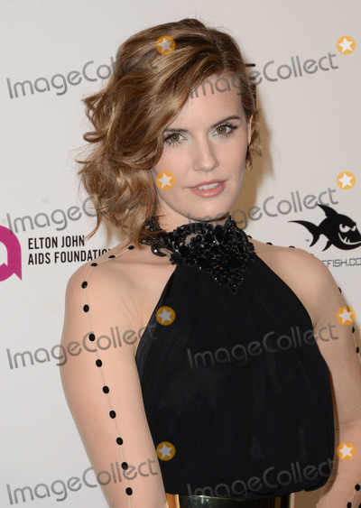Maggie Grace Photo - 28 February 2016 - West Hollywood California - Maggie Grace 24th Annual Elton John Academy Awards Viewing Party sponsored by Bvlgari MAC Cosmetics Neuro Drinks and Diana Jenkins held at West Hollywood Park Photo Credit Birdie ThompsonAdMedia